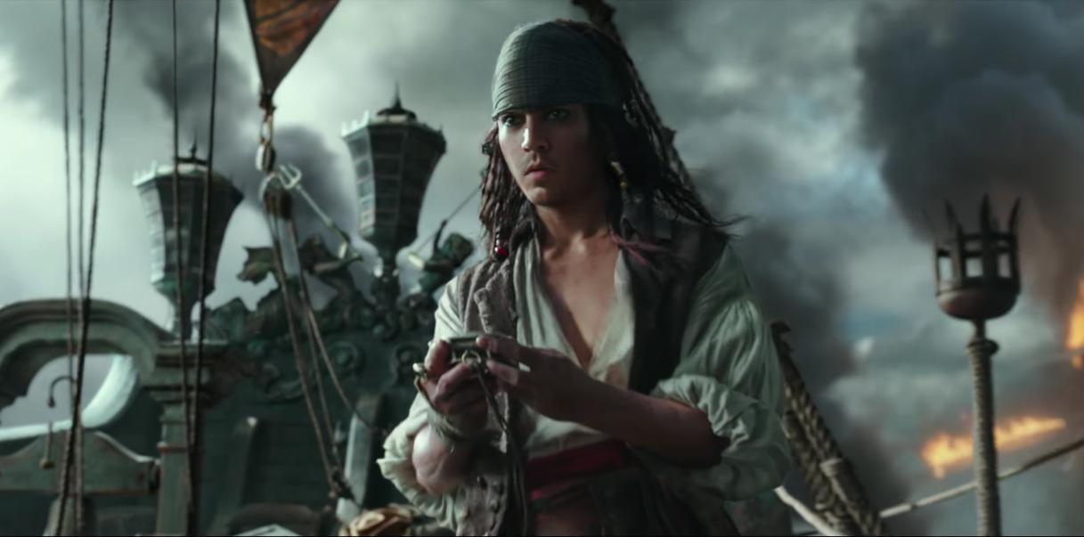 Грязный Депп: вышел новый трейлер «Пиратов Карибского моря 5