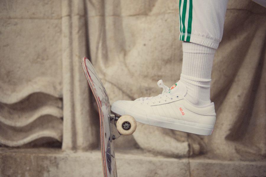 kollaboracija adidas Skateboarding x Hélas